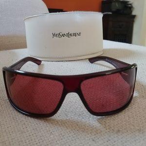 Red YSL sunglasses